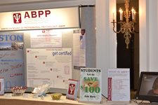 Volunteer ABPP Booth